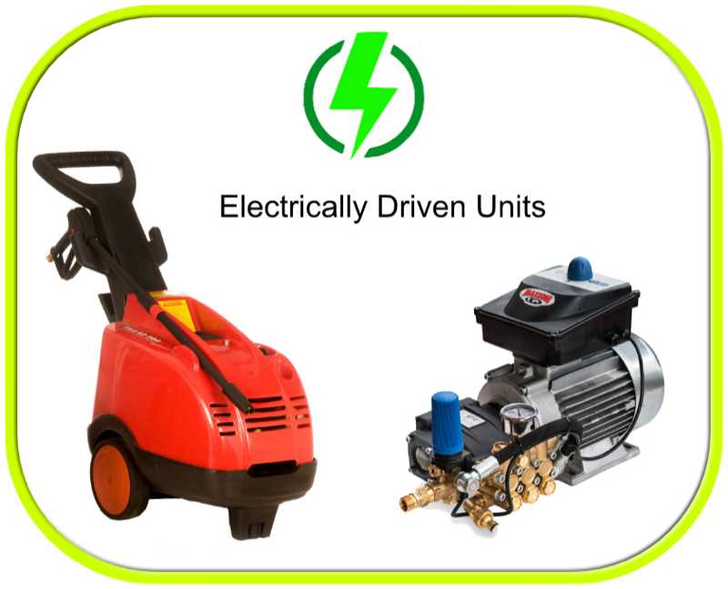 240v Electric Pressure Washers