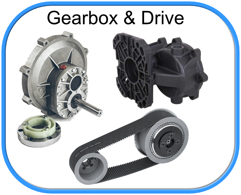 Gearboxes and Drive Couplings