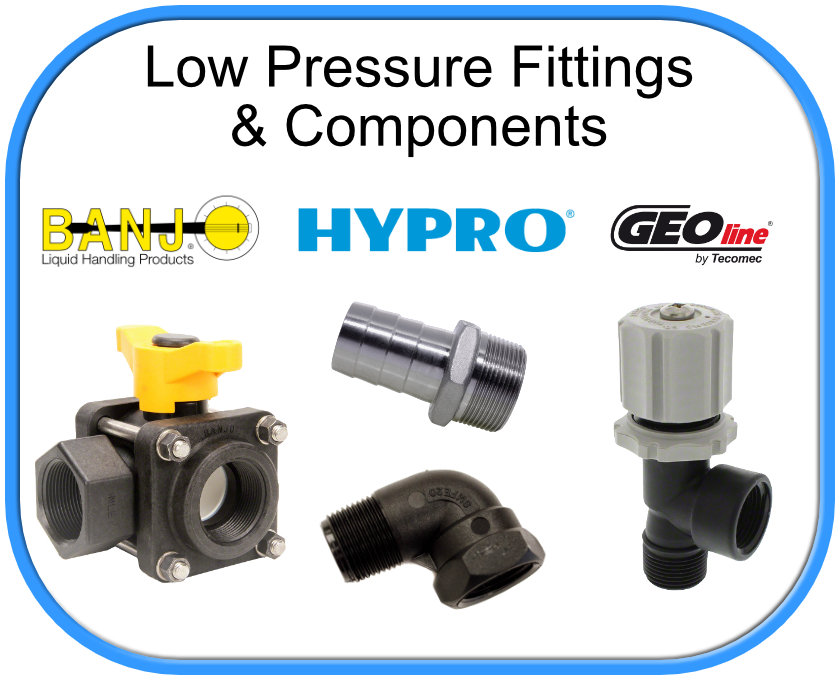 Low Pressure Components and Fittings