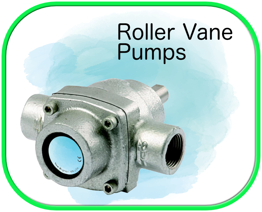 SoftWash Roller Vane Pumps
