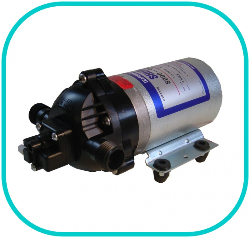 Shurflo 8000 Series Pump 12v 100PSI 6.8LPM 1/2'' Male Ports