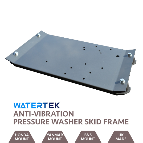 Grey Powder-Coated Anti-Vibration Skid Plate