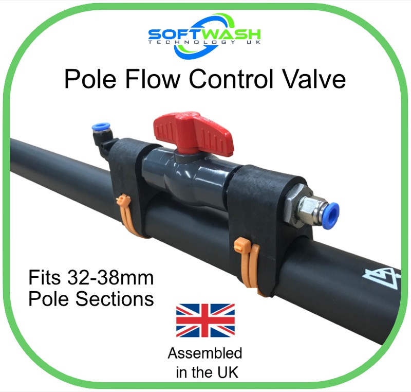 SoftWash Pole Control Valve