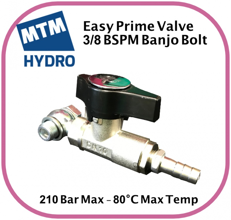 Easy Prime Kit 3/8 BSPM 210 Bar Max