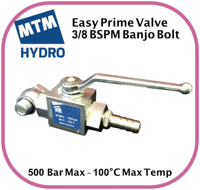 Easy Prime Kit 3/8 BSPM 300 Bar Max