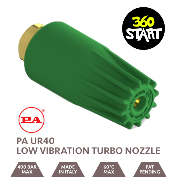 PA UR40 Low Vibration Turbo Nozzle