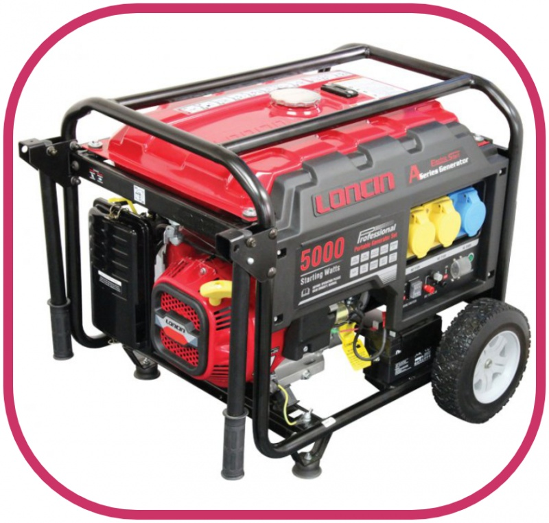 Loncin 4kW Electric Start Generator LC5000