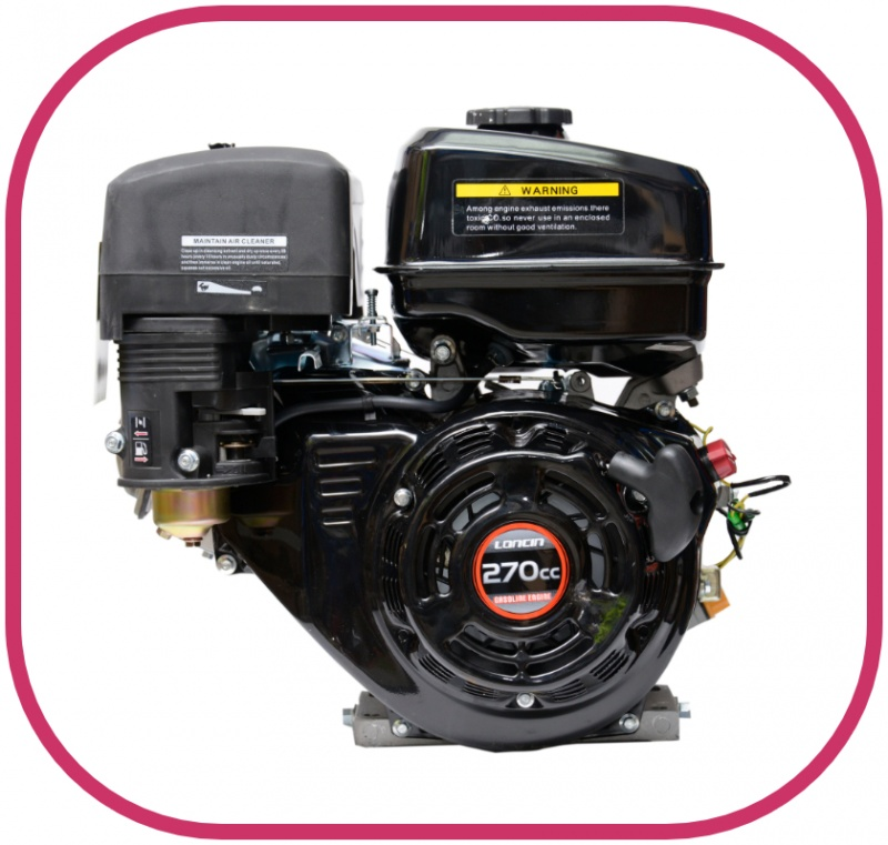 8HP 1'' Parallel Shaft Loncin Petrol Engine with Electric Start