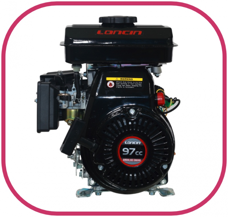 "1.8HP 5/8"" Parallel Shaft Loncin Petrol Engine with Recoil Start"