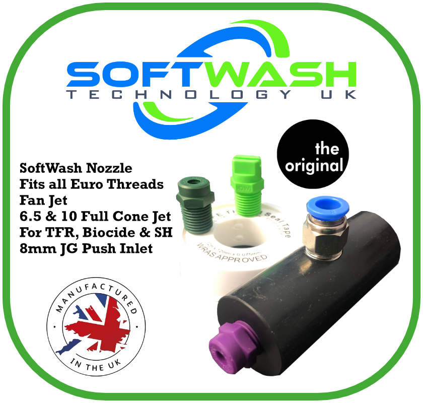 Softwash WFP Euro Adaptor Nozzle Bundle