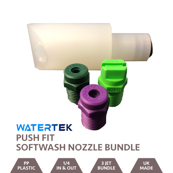 Softwash WFP Push Fit Adaptor Nozzle Bundle