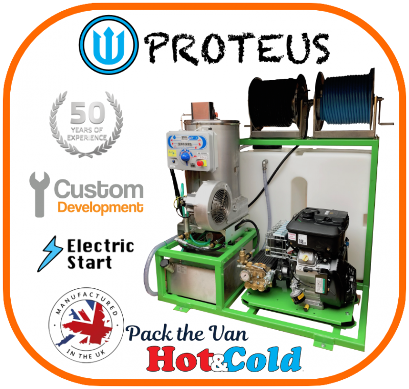 PROTEUS Briggs & Stratton Hot & Cold Van-Pack
