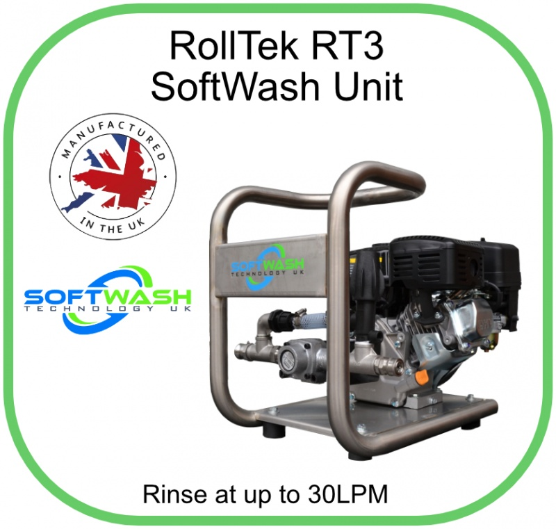 Rolltek SoftWash In Stainless Steel