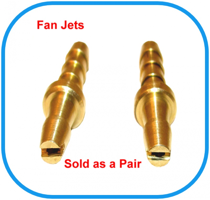 Aluminium Fan Jets (Pair of)