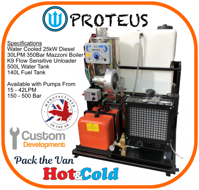 Proteus Vulcan Hot Pressure Washer