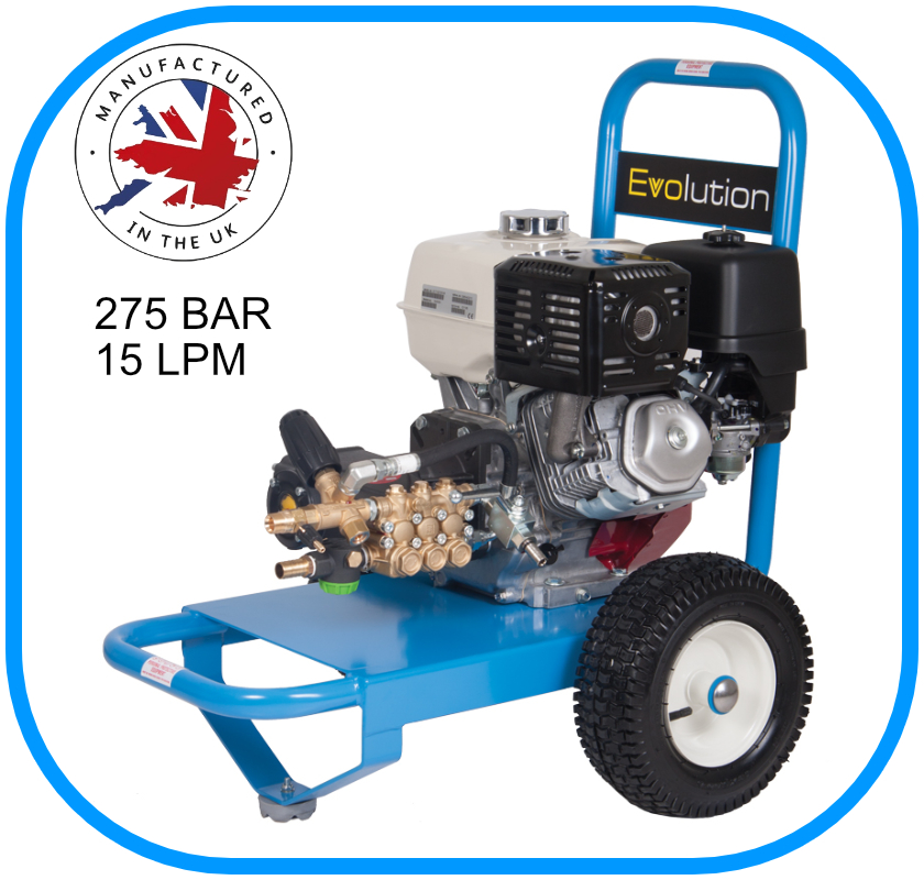 Evolution 1 Series Pressure Washer 15LPM 275BAR