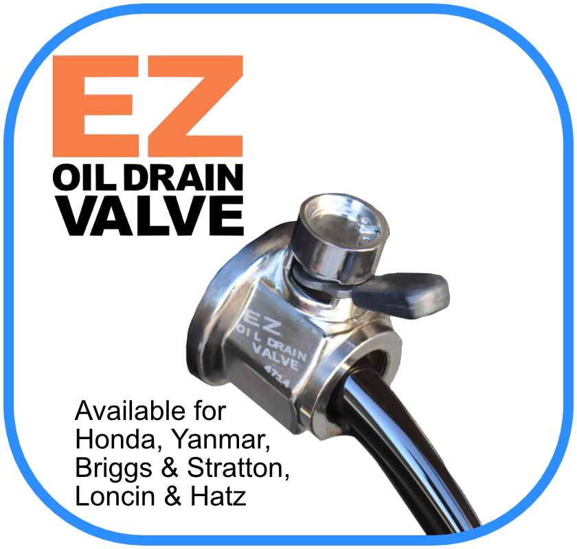 EZ Oil Drain for Honda GX240 - GX270 - GX340 - GX390