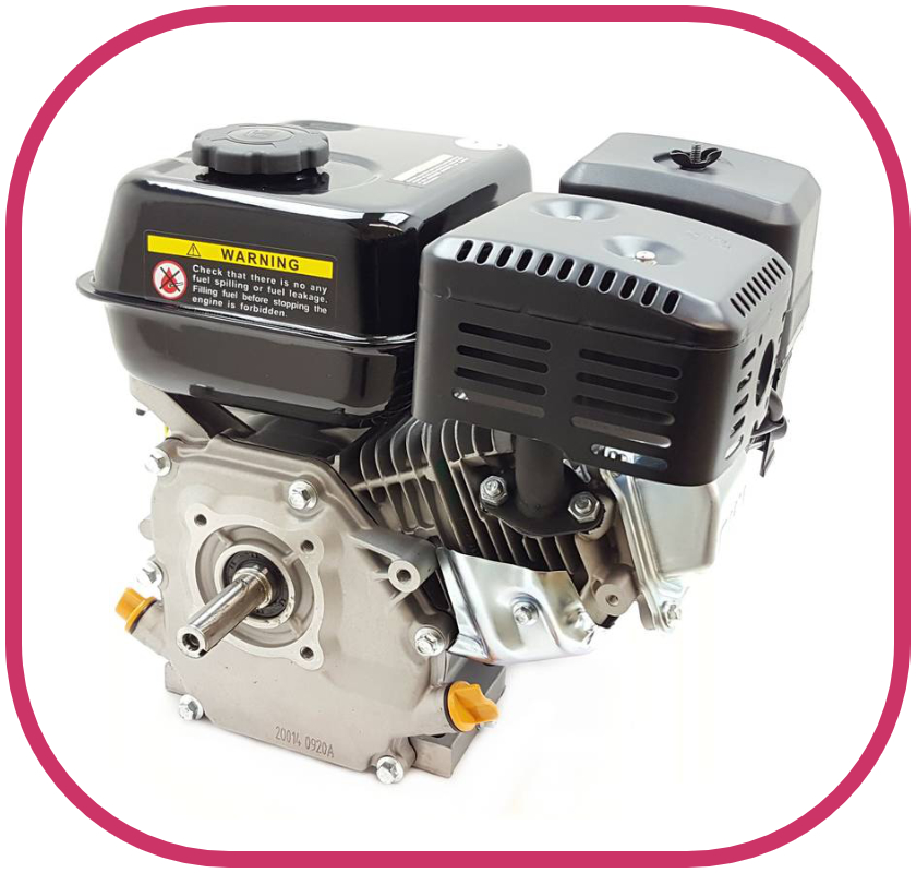 "3.5HP 3/4"" Parallel Shaft Loncin Petrol Engine with Recoil Start"
