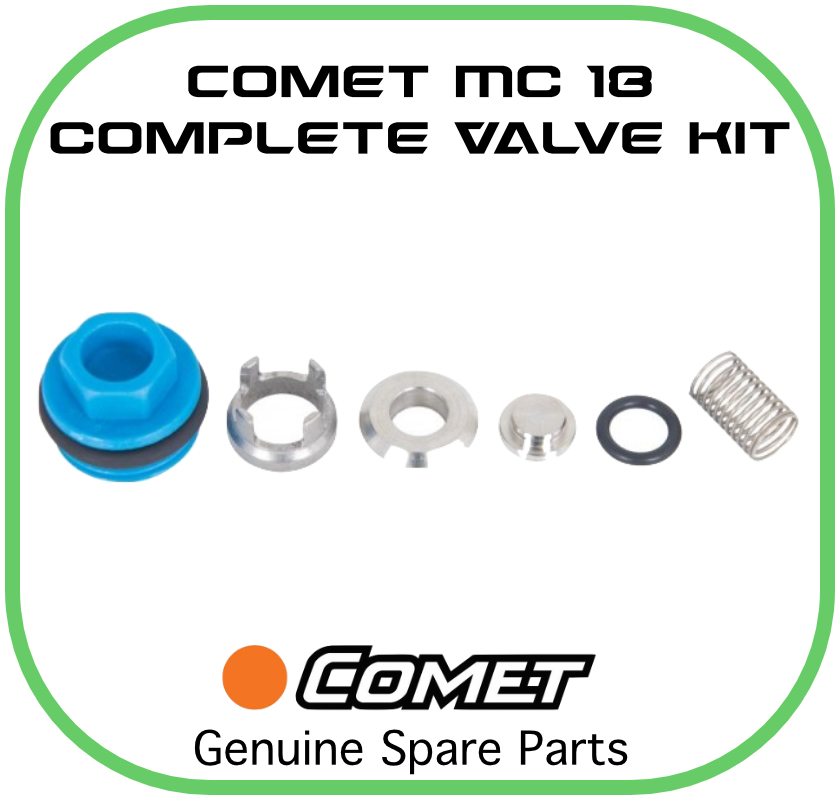 Comet MC18 Suction/Delivery Valve Kit