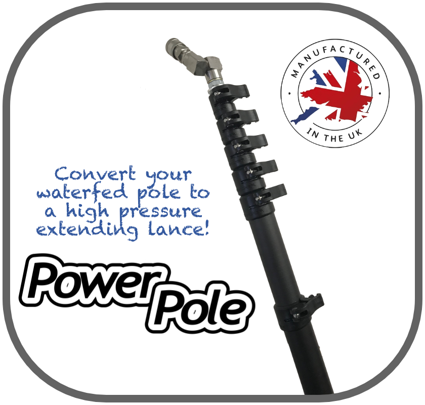 Power Pole High Pressure One Man Extending Lance Conversion Kit