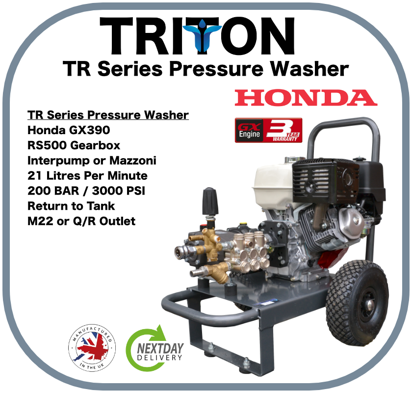 Triton Loncin G420 with Mazzoni Pump Gearbox Drive with RTT