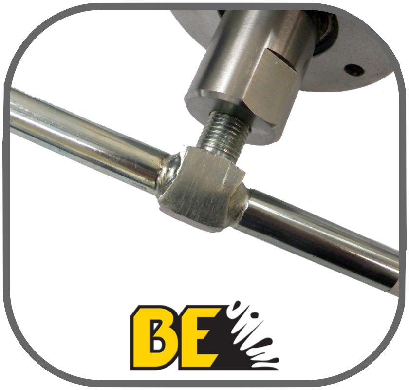 Stainless Steel 355mm Rotary Arm for 18'' Whirlaway