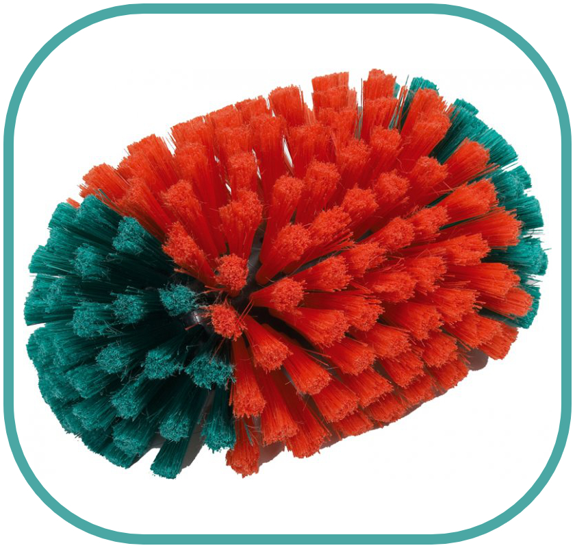 Vikan 240mm Waterfed Hedgehog Brush