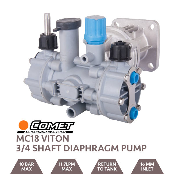 Comet MC18 Viton Pump for 3/4 Shaft Engine