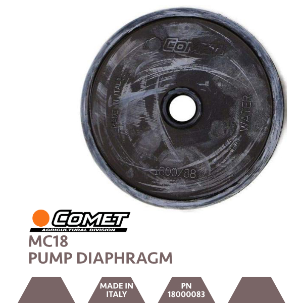 Comet MC18 Pump Diaphragm