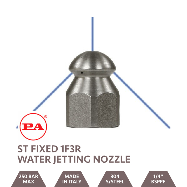 ST4 Water Jetting Nozzle 1F3R 1/4