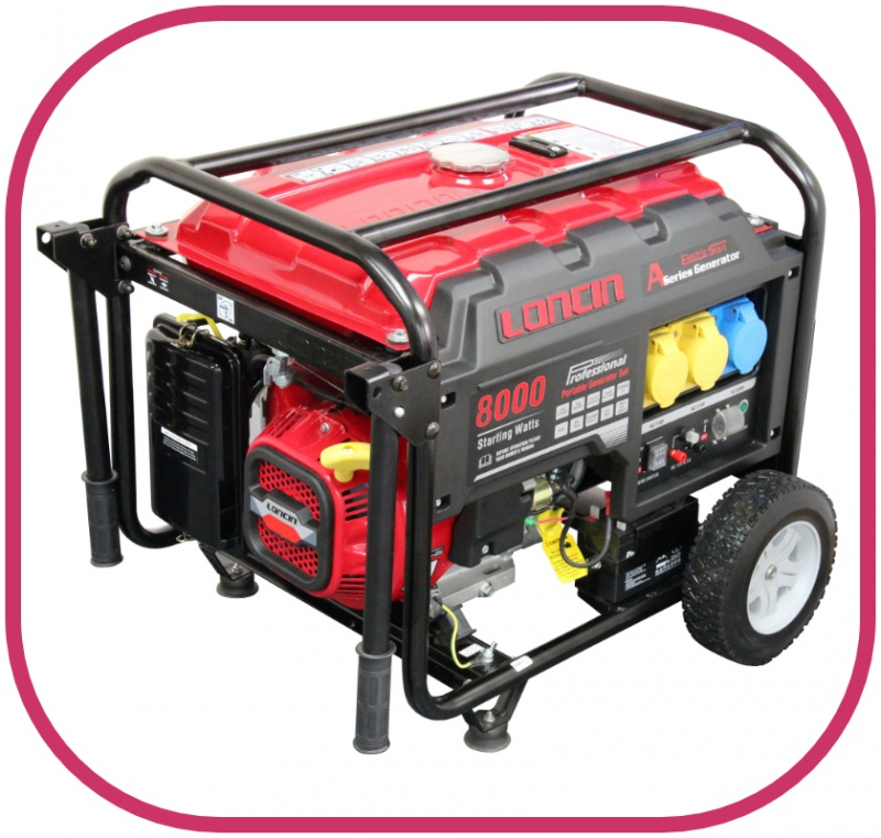 Loncin 6kw Electric Start Generator LC8000